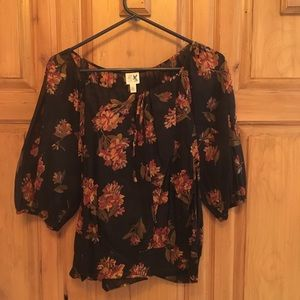 Anthro blouse, worn once